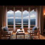 【ジャズミュージック】高原リゾートホテルから湖を見ながらリラックスする1時間|作業用BGM