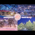 Japanese Snow Relaxation Photos EP62   Relaxing Music • 美しいリラックスミュージック • ヨガ瞑想リラクゼーション • 美しい音色 ピアノ