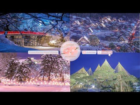 Japanese Snow Relaxation Photos EP62 | Relaxing Music • 美しいリラックスミュージック • ヨガ瞑想リラクゼーション • 美しい音色 ピアノ