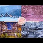 Japanese Snow Relaxation Photos EP60 | Relaxing Music • 美しいリラックスミュージック • ヨガ瞑想リラクゼーション • 美しい音色 ピアノ